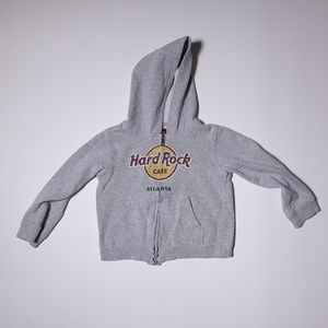 Hard Rock Cafe Hoodie Small DISTRESSED LOGO